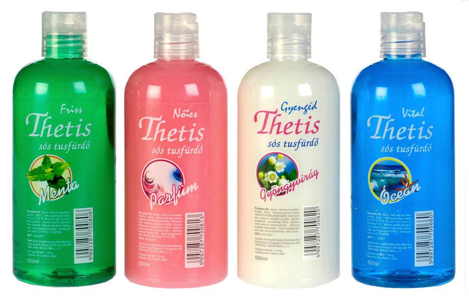 Vásárolni Thetis sós Tusfürdősó - 500 ml