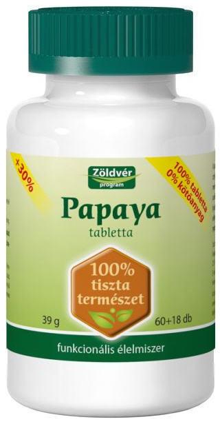 Vásárolni Papaya 100% tabletta
