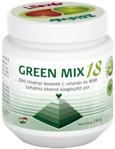 Vásárolni Green Mix 18 zöld növényi keverék por