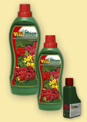 Vásárolni Vitaflóra Muskátli és balkonnövény tápoldat