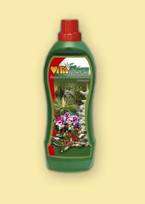 Vásárolni Vitaflóra Örökzöld és rododendron tápoldat