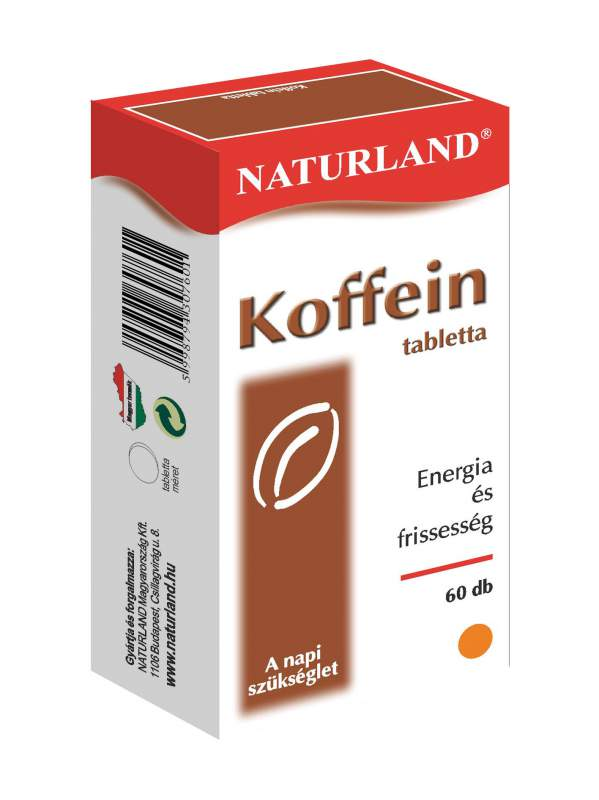 Vásárolni Koffein tabletta 60 db