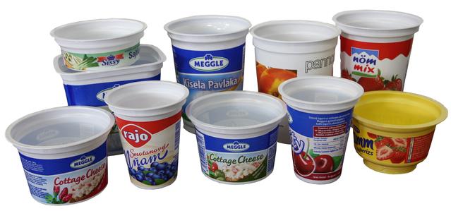 Vásárolni Csomagolás polipropilénből élelmiszerekhez tejipar