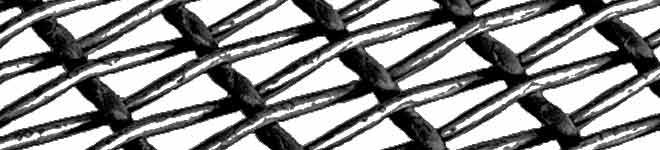 Vásárolni Drótszövet - téglalap alakú lyukkal