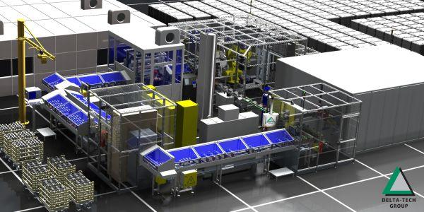 Vásárolni Automata szállítópálya rendszer főtengelyhez