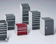 Vásárolni Fiókos szekrények mechanikus zárral, szélesség 525 mm