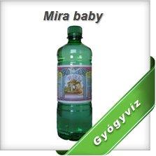 Vásárolni Mira Baby természetes glaubersós gyermekgyógyvíz
