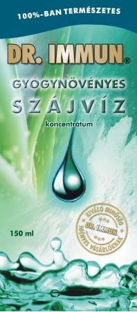 DR. IMMUN 6 gyógynövényes Szájvíz koncentrátum