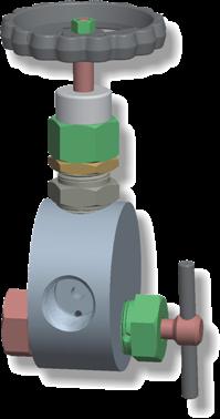 Vásárolni LM-1 típusú manométer tűszelep