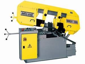 Vásárolni BMSY billenõkeretes fix vágószögû félautomata szalagfûrészek