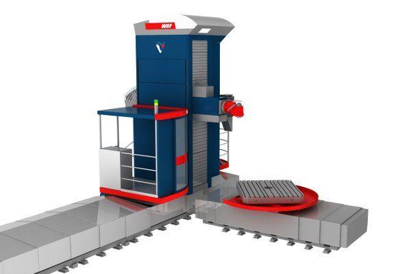 Vásárolni ASZTALLAPOS VÍZSZINTES FÚRÓ-MARÓMŰ – WRFT 130/150/160 CNC