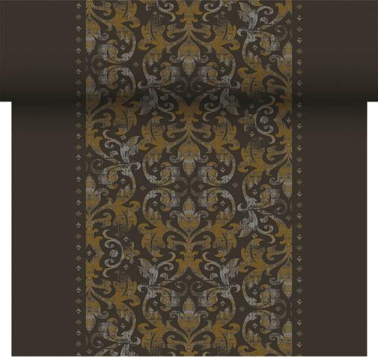 Vásárolni Dunicel asztali futó Festiva fekete 0,4*24m