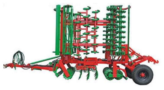 Vásárolni ATLAS vontatott magágykészítő kompaktor
