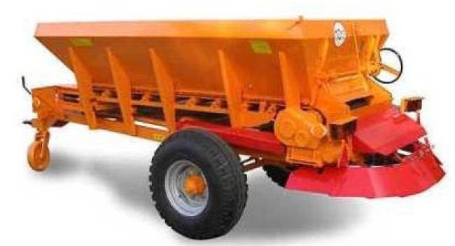 Vásárolni RCW 2500 vontatott homok- és sószóró