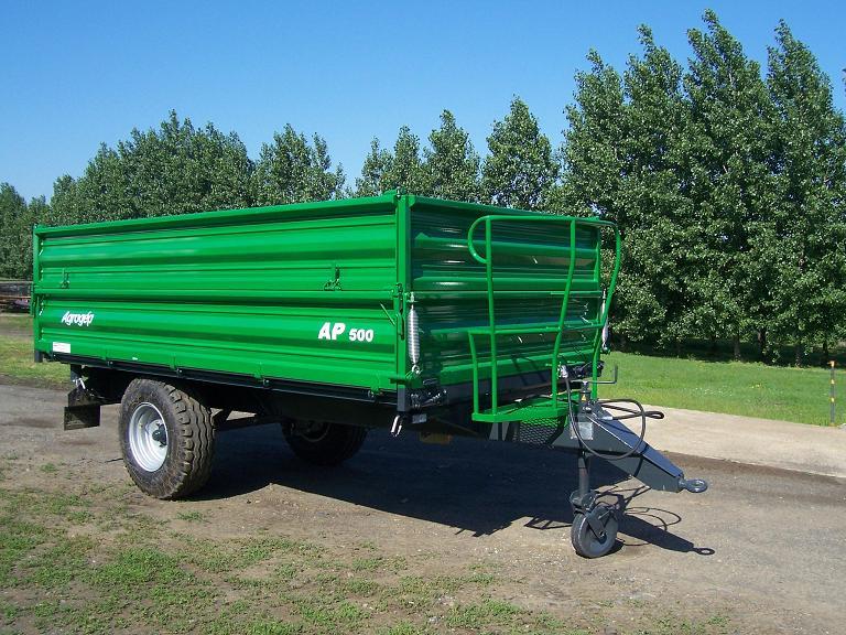Vásárolni AP-500 mezőgazdasági billenőfelépítményes pótkocsi