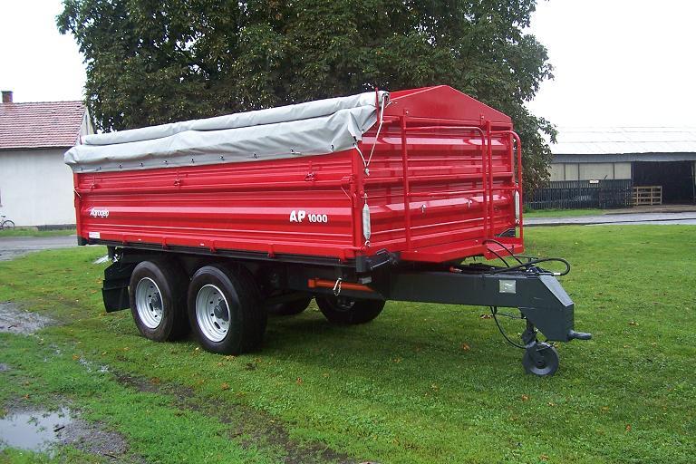 Vásárolni AP-1000 mezőgazdasági billenőfelépítményes pótkocsi