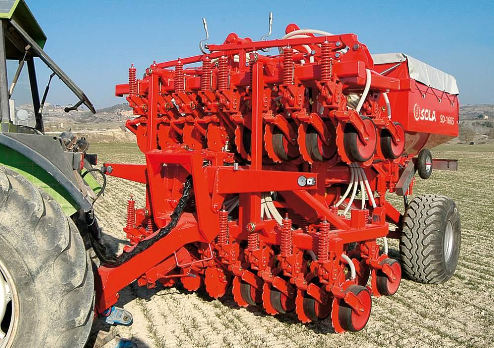 Vásárolni SD-1605 4000 lit. vágótárcsás csoroszlyával