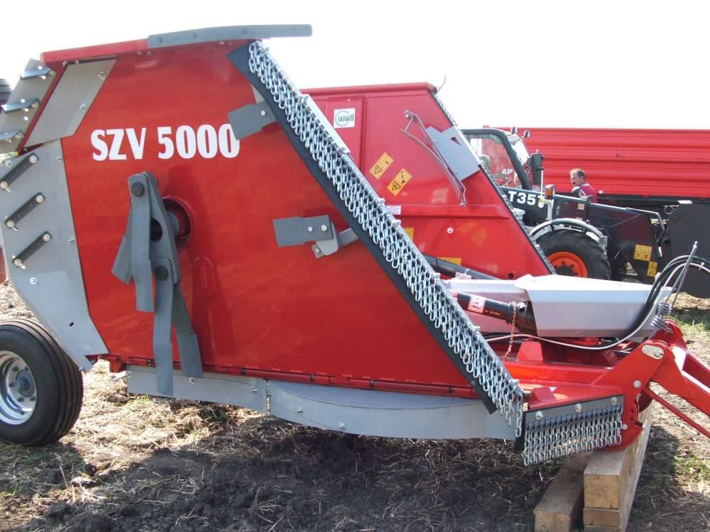 Vásárolni SZV 5000 szárzúzó és fűkasza