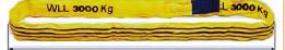 Vásárolni Végtelenített poliészterszálas egyrétegű körkötél 7:1