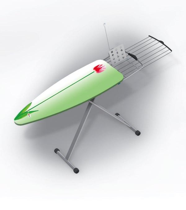 Vásárolni GIMI Prisma Vasalóállvány ruhatartó+antenna+elektromos csatl.