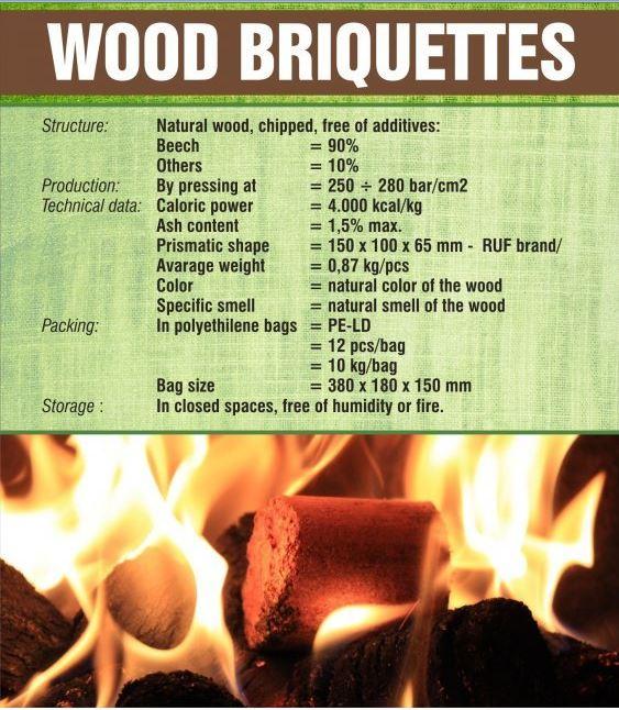 Vásárolni Brikett, Briquettes, Wood briquettes