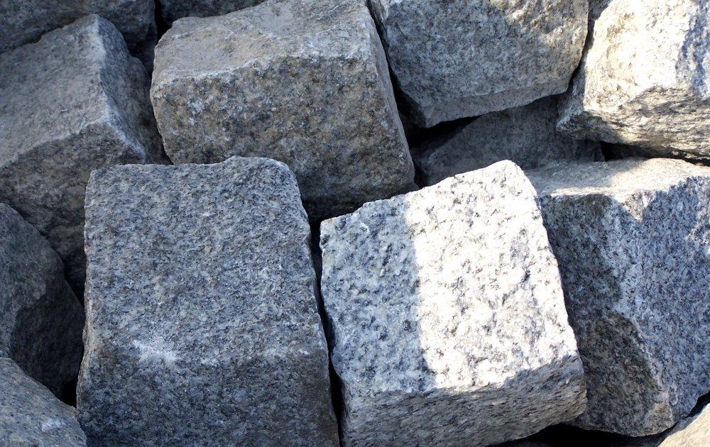 Vásárolni Granite, Basalt, Gabbro cobblestone, cubestone, pflaster