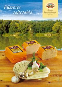 Vásárolni Csökkentett zsírtartalmú fűszeres sajt