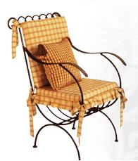 Vásárolni Kovácsoltvas szék