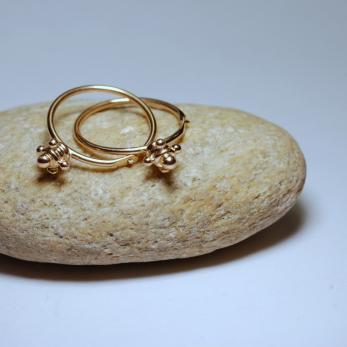 Vásárolni Bizánci karika arany fülbevaló