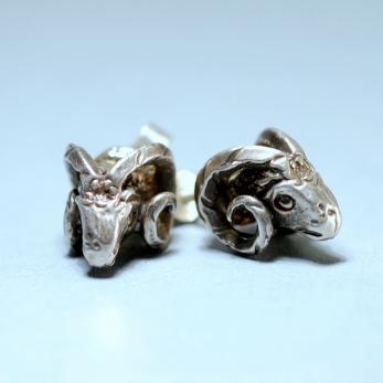 Vásárolni Kosfej ezüst fülbevaló