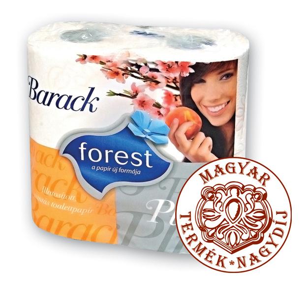 Vásárolni Barack 4 tekercs illatosított, mintás toalettpapír