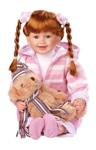 Vásárolni Jázmin baba macival Kategória: Babák