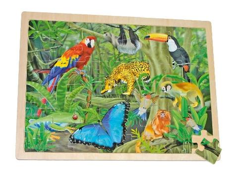 Vásárolni Dzsungel világa kirakó, 48 db