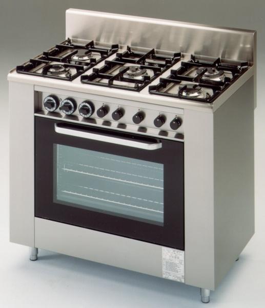 Vásárolni 5 Lángos Gáztűzhely Elektromos Sütővel