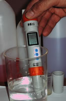 Vásárolni PH-200 pH és hőmérséklet mérő műszer