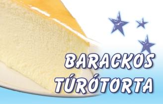Vásárolni Barackos Túrótorta