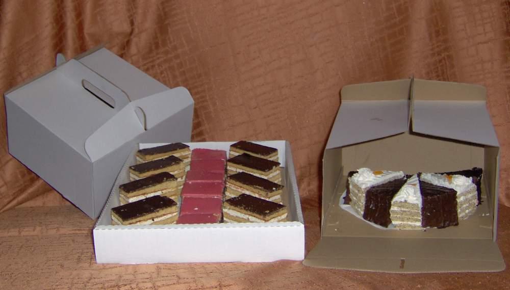 Vásárolni Tortás, süteményes dobozok