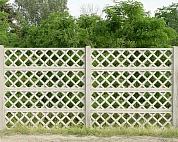 Apácarácsos kerítés
