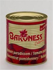 Baroness 800g sűrített paradicsom 28/30 Ref% 850 ml
