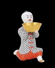 Térdeplő kínai, nagy Figurák