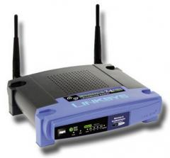 Linksys LWRT54GL router