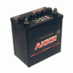 Akkumulátortelepek 12 V 35 Ah bal+ Akksi