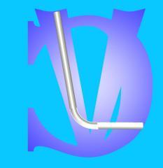 Műanyag kádtúlfolyó cső