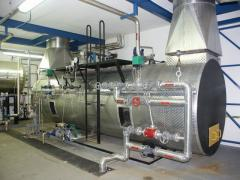 Gázmotor füstgáz-hőhasznosító