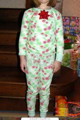 Lányka, fiú mintás pizsama