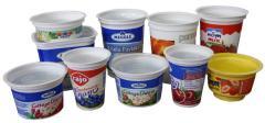 Csomagolás polipropilénből élelmiszerekhez tejipar