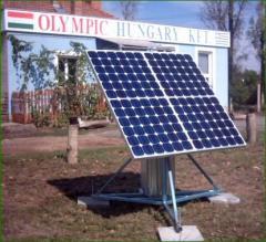 Kompakt, kézi erővel forgatható photovoltaikus
