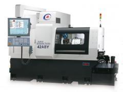 JSL-42ABYMs CNC hosszeszterga-automata