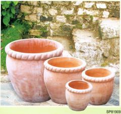 Antik terracotta termékek