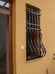 Kovácsoltvas ablakrácsok